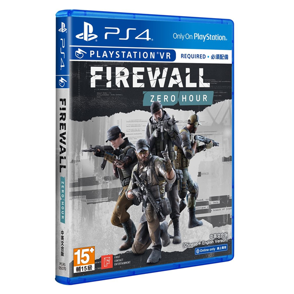 PS4 VR FIREWALL ZERO HOUR ※ 中英合版 ※   PS4,FIREWALL ZERO HOUR,中英文版,VR,槍戰,4對4