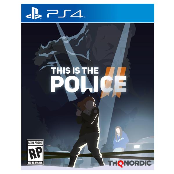 PS4 身為警察2   ※ 中文版 ※  This Is the Police 2 PS4,This Is the Police,身為警察2,中文版,冒險,策略,黑色遊戲