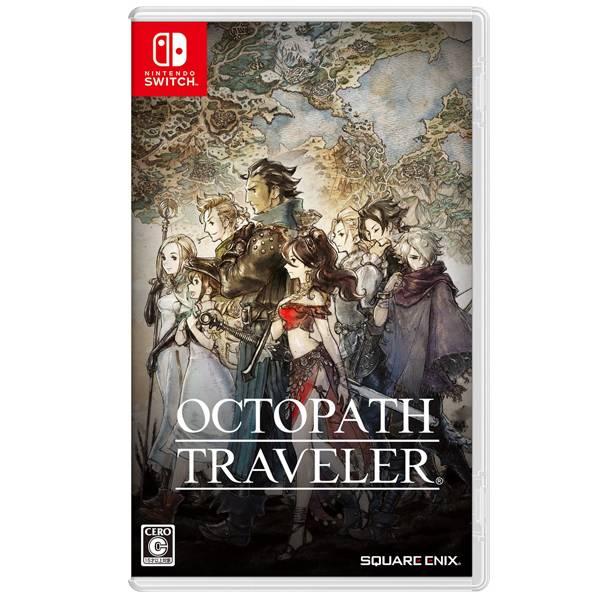 NS 八方旅人 OCTOPATH TRAVELER  / 中文版 / 歧路旅人 / Nintendo Switch NS,Nintendo Switch,SWITCH,OCTOPATH TRAVELER,歧路旅人,八方旅人,RPG,像素,中文