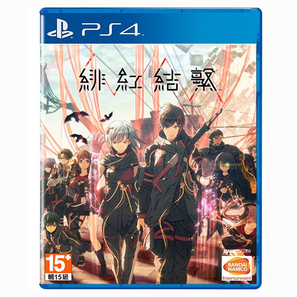 PS4 緋紅結繫 Scarlet Nexus / 中文版 PS4,PS5,XSX,緋紅結繫,中文版,時空幻境,霄星傳奇,動作,RPG,超腦力動作