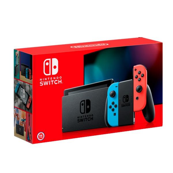 【續航加強款】任天堂 NS 主機 紅藍色手把 台灣代理公司貨  Nintendo Switch 任天堂,SWITCH,NINTENDO,NS,Nintendo SWITCH,公司貨,台灣,代理,switch 主機,主機