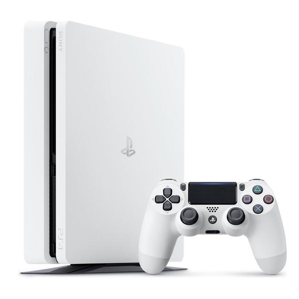【白色】薄型 PS4 Slim 500G 主機 CUH-2000系列 電視遊樂器   PS4,SLIM,新款,薄型,CUH-2017,CUH-2000,主機,2000型