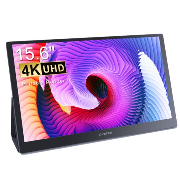 C-FORCE 15.6吋 4K UHD 攜帶式螢幕 CF011X PRO4 / 台灣公司貨 賽德斯,海盜船,CORSAIR,無線耳機,HS60 PRO STEREO,黃,PC,電競,雷蛇,公司貨