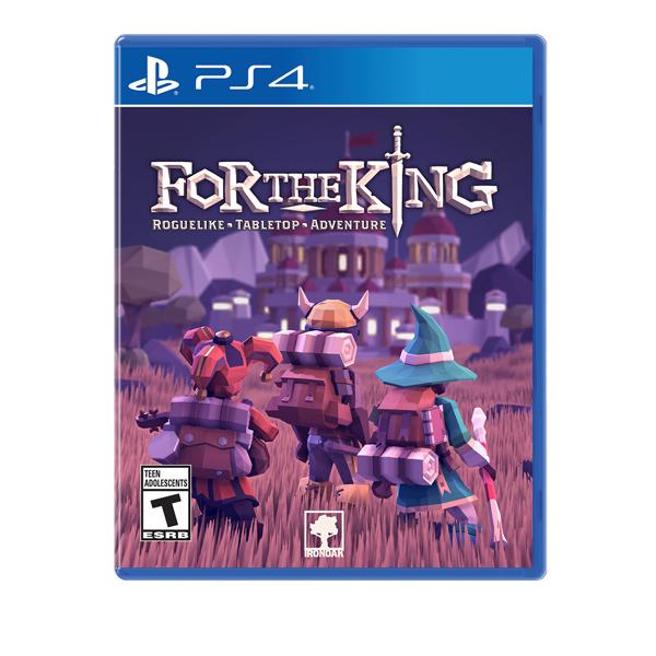 【預購】PS4 為了國王 // 中文版 // FOR THE KING PS4,NS,SWITCH,任天堂,ForTheKing,中文版,桌游,國王,roguelike,策略,RPG