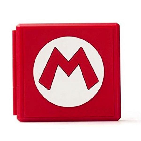 NS 卡夾盒 【瑪利歐樣式】 12+12 可放記憶卡 ※ 另有 薩爾達 樣式 ※ Nintendo Switch  NS,Nintendo Switch,Switch,任天堂,卡夾盒,收納,記憶卡,瑪利歐,薩爾達