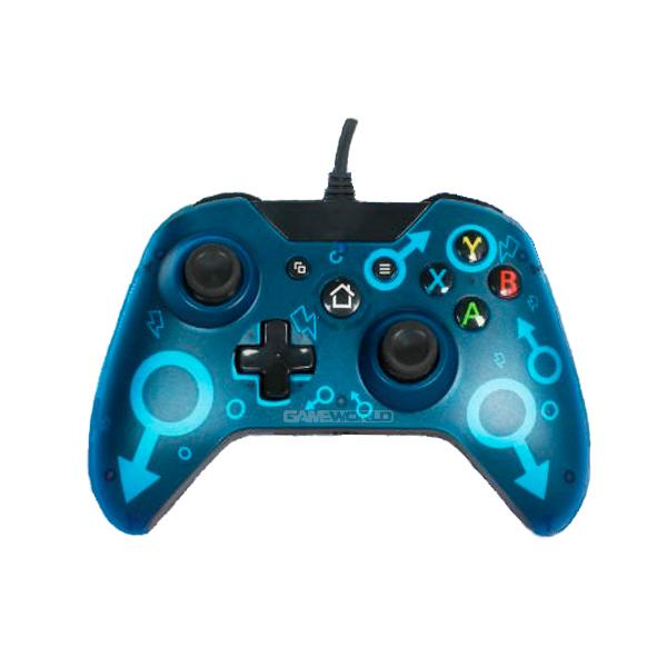 Xbox one 【藍色】有線 手把 / 台灣代理商 / X1 有線控制器 手柄  手把,Xone,Xbox one,X360,有線手把,無線,震動,雲城,Zcity