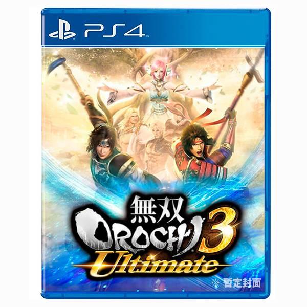 PS4 無雙 OROCHI 蛇魔 3 Ultimate / 究極版 / 中文版 PS4,蛇魔,無雙,呂布,赤兔馬,戰國無雙,蓋婭,究極版,中文版,預購