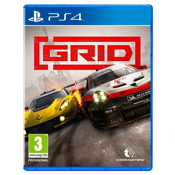 PS4 極速房車賽 / 英文版  預購,PS4,GRID,極速房車賽,英文版,GT,GTS,賽車,方向盤,競速
