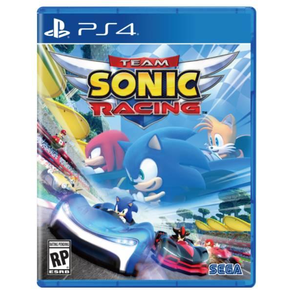 PS4 音速小子 搭檔組隊大賽車 // 中文版 // Team Sonic Racing PS4,SEGA,音速小子,搭檔組隊,賽車,競速,中文版