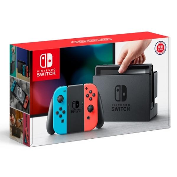 任天堂 NS 主機 紅藍色手把 台灣代理公司貨  Nintendo Switch 任天堂,SWITCH,NINTENDO,NS,Nintendo SWITCH,公司貨,台灣,代理,switch 主機,主機