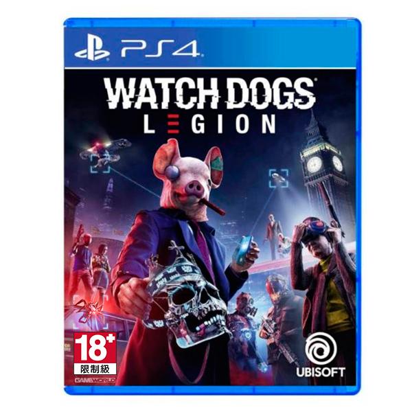 PS4 看門狗:自由軍團 / 中文版  預購,PS4,NS,看門狗,2020,中文版,自由軍團,自由性高,多人