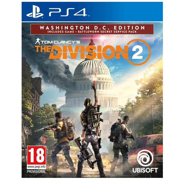 PS4 湯姆克蘭西:全境封鎖 2 // 中文 華盛頓特區 版 // The Division PS4,湯姆克蘭西:全境封鎖 2,中文,一般版,The Division,湯姆克蘭西,全境封鎖,Division