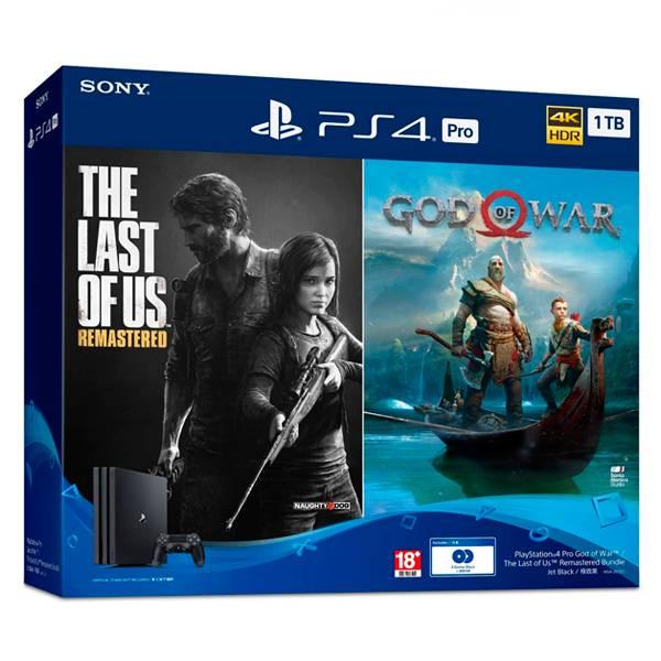PS4 PRO主機 同捆 戰神 + 最後生還者  PS4,戰神,最後生還者,頑皮狗,中文版,PS4PRO,同捆,GODWAR,台灣公司貨