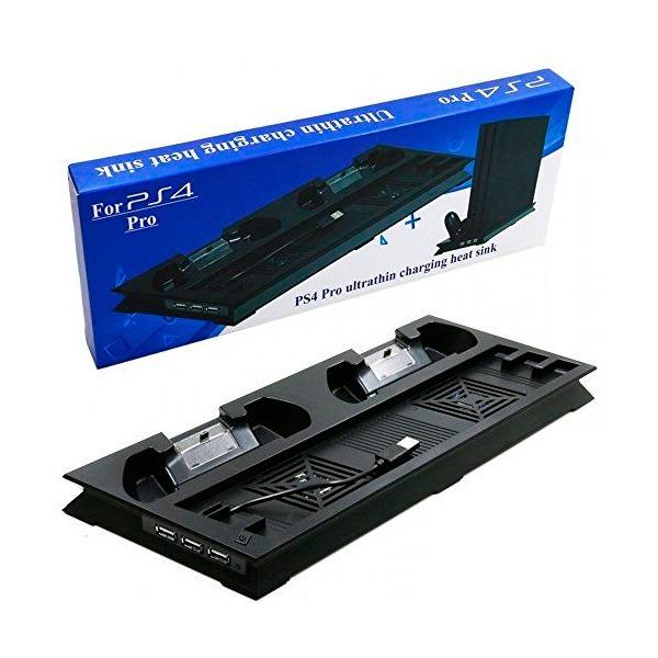 PS4 PRO 主機 專用 散熱風扇 直立架 手把充電座 / 支架 / 副廠 PS4,PRO,slim,主機,直立架,支架,散熱,風扇,手把,充電