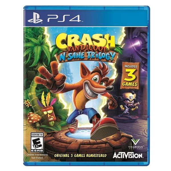 PS4 袋狼大進擊 瘋狂三部曲*日英文版*Crash Bandicoot PS4,袋狼大進擊,瘋狂三部曲,日英文版,Crash Bandicoot
