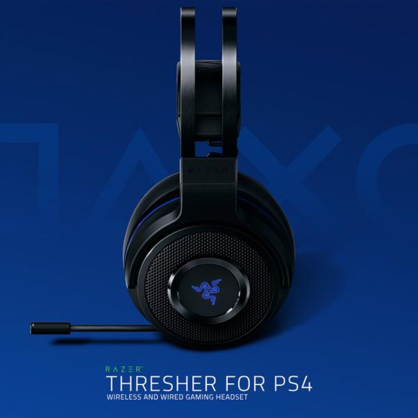 RAZER 雷蛇 PS4 戰戟鯊 無線耳機麥克風 THRESHER ※ 可接有線 ※ 非終極版  Razer,Thresher,雷蛇,PS4,戰戟鯊,無線耳機麥克風,無線耳機,終極版