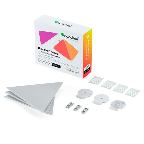 【新款】Nanoleaf Shapes 綠諾 智能三角燈 3片 擴充組 / Triangle Starter Kit / 智慧燈板 / 台灣公司貨 Nanoleaf,智能,方塊燈,擴充版,台灣公司貨,siri,語音控制,綠諾,Shapes,六角,三角,四角