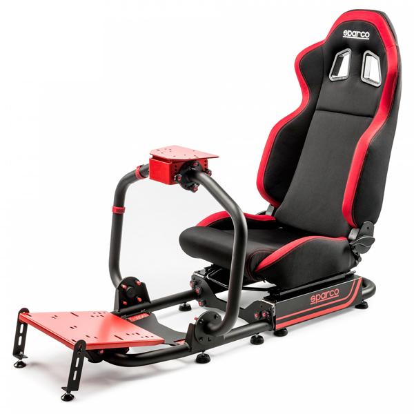 原裝進口 Sparco EVOLVE R100 可折疊 賽車架 ※ AP2 挑戰者賽車架可參考 SPARCO,PS4,賽車架,PLAYSEAT,APIGA,方向盤,折疊賽車架,AP1,AP2,碳纖維