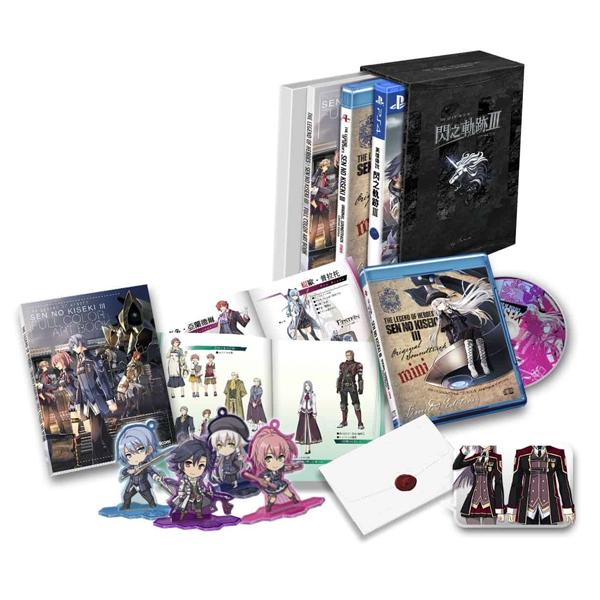 PS4 英雄傳說 閃之軌跡 3 限定版 ※ 中文版 ※ PS4,英雄傳說,閃之軌跡 3,中文版,限定版