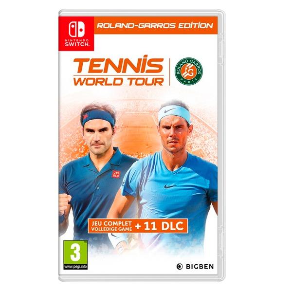 NS 網球世界巡迴賽 法國網球公開賽版 / 中英合版 / 預購,PS4,網球,網球世界巡迴賽,法國網球公開賽,法網,納達爾,汀恩,中文版,NS