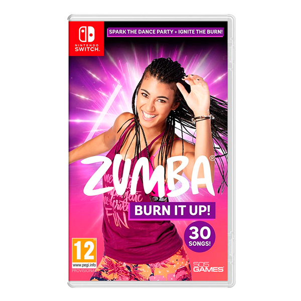 NS Zumba Burn It Up! / 中英文合版 / 尊巴 健身舞 PS4,NS,尊巴,健身舞,燃燒,脂肪,中文版,跳舞,joy,con,流汗,健身,zumba