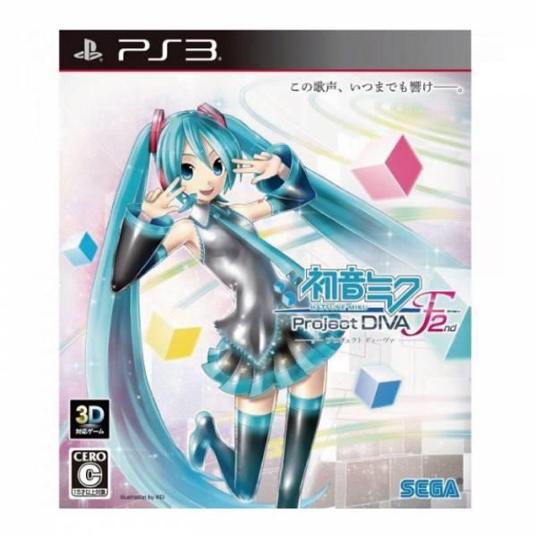 PS3 初音未來 -Project DIVA- F 2nd 亞日版