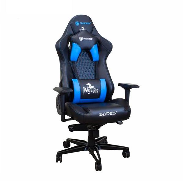 賽德斯 SADES PEGASUS 天馬座 / 黑藍 / 人體工學電競椅 賽德斯,SADES,PEGASUS,天馬座,黑,藍,人體工學,電競椅