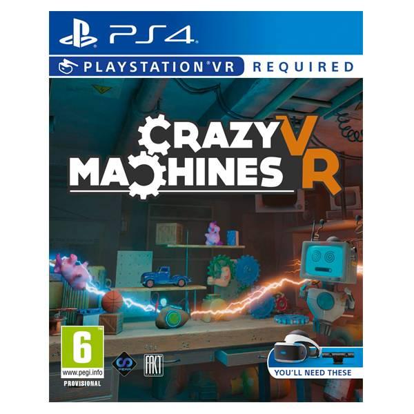 PS4 瘋狂機器 / PS VR 專用 / 英文版 NS,PS4,PSVR,瘋狂機器,VR,機器,瘋狂,英文,屬性,物理