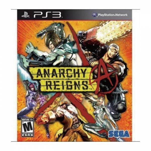 PS3 極限混亂 美版 Anarchy Reigns(Max Anarchy)
