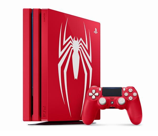 PS4 PRO 同捆主機 漫威蜘蛛人 中文版 ※ 限量特飾版 ※  PS4 Pro,PlayStation 4 Pro,Marvel's Spider-Man,Spider-Man,蜘蛛人,漫威,漫威蜘蛛人,PS4,主機,限量版