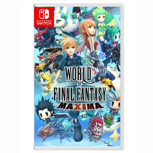 NS FINAL FANTASY 世界 極限版 // 中文版 //  Nintendo Switch NS,SWITCH,FINAL FANTASY,世界,極限版,中文版,FF