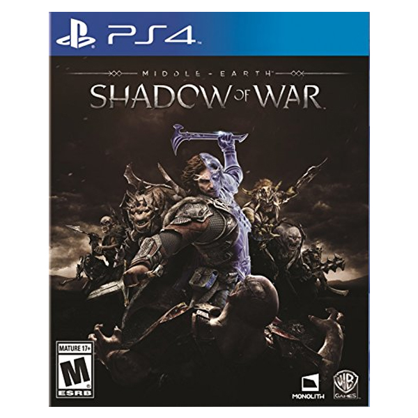 PS4 中土世界 戰爭之影*中文版*Middle-Earth:Shadow of War PS4,中土世界,戰爭之影,中文版,Middle-Earth,Shadow of War