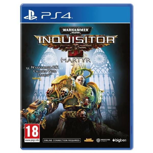 PS4 戰鎚 40K 審判者 烈士※中文版※ Warhammer 40,000: Inquisitor - Martyr PS4,戰鎚,戰槌,40K,審判者,烈士,中文版,Warhammer 40,000,Inquisitor Martyr,戰鎚 40K