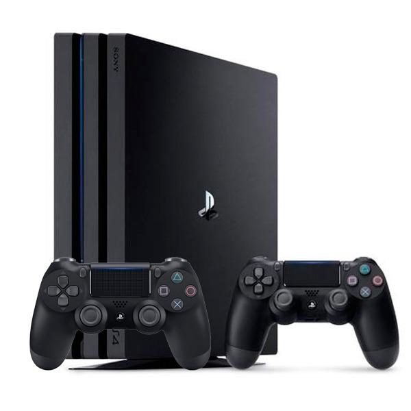 PS4 Pro版 主機 CUH-7117B 【黑色】 高階4K HDR // 全新未拆 台灣原廠公司貨 // 加贈 DUALSHOCK®4無線控制器 一支 PS4,PRO,PS4 PRO,主機,PS VR,HDR,4K,CUH-7000