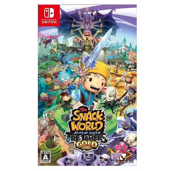 【二手】NS 點心世界 黃金版 //  日文版 // Nintendo Switch 2手,寄賣,中古,二手,點心世界,NS,SWITCH,黃金版,日文,RPG