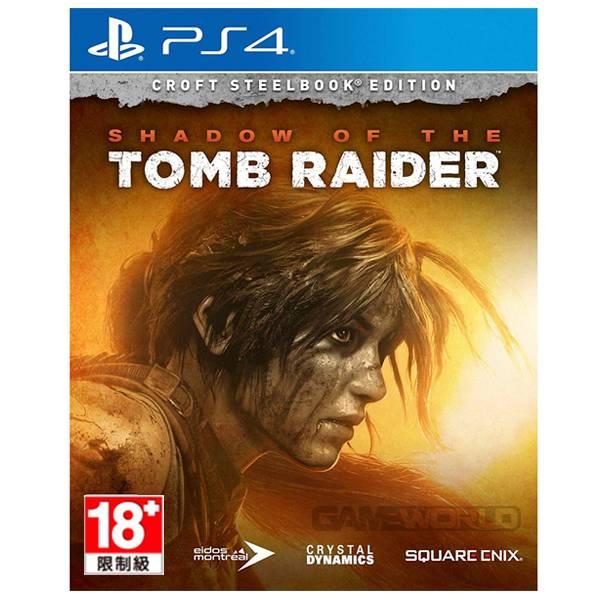 PS4 古墓奇兵:暗影 豪華 鐵盒版 ※ 中文版 ※ Shadow of the Tomb Raider PS4,古墓奇兵:暗影,Shadow of the Tomb Raider,古墓奇兵,暗影,蘿拉,祕境探險,豪華版,季票