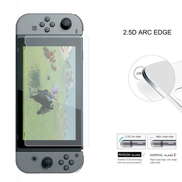 抗藍光 【NS專用】9H 鋼化保護貼 // 高透光 疏水疏油 2.5D邊角 // Nintendo Switch NS,Switch,Joy-Con,收納包,硬殼包,攜行包,保護貼,鋼化貼,9H,任天堂