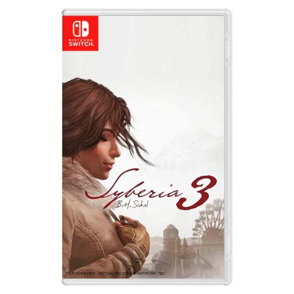 NS 西伯利亞 3 ※ 中英合版 ※  Darksiders III NS,Nintendo,SWITCH,任天堂,西伯利亞,中文版,Syberia 3,冒險,角色扮演