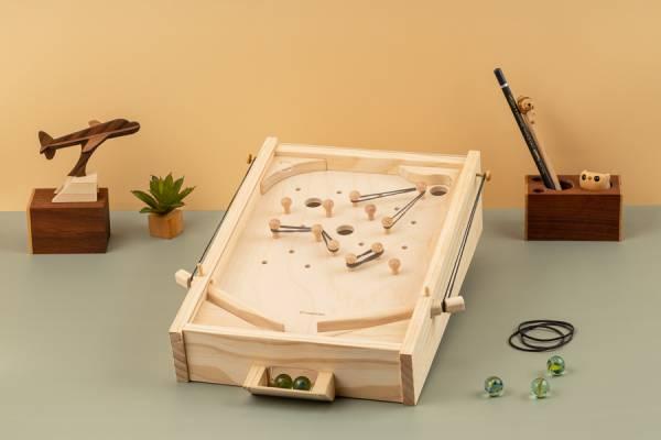 American Pinball wood, woodwork, DIY,