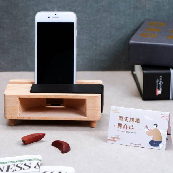 Amplifier Phone Holder 擴音、手機座、趣味小物、詼諧、擲筊、信仰