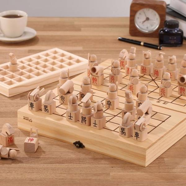 3D Chinese Chess Chinese chess,wood toy,woodwork, toy