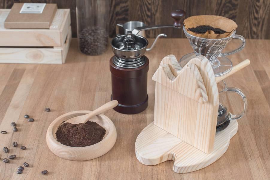原木手沖掛架 木工,木作課程,手作課程,創意,咖啡掛架,