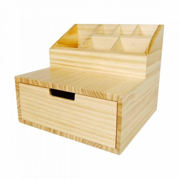 客製木盒(ODM)-文具抽屜盒