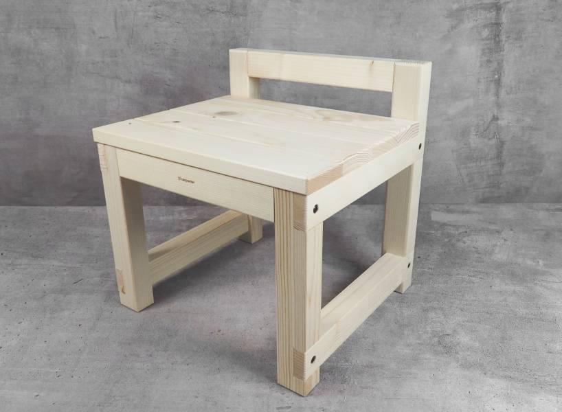 Handle chair wood, woodwork, stool, DIY wood