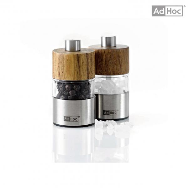 [AdHoc]迷你不鏽鋼陶刀研磨罐(木頭)