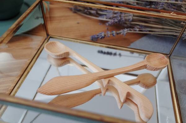 Cypress Spoon +Chopsticks (For Taichung Workshop)