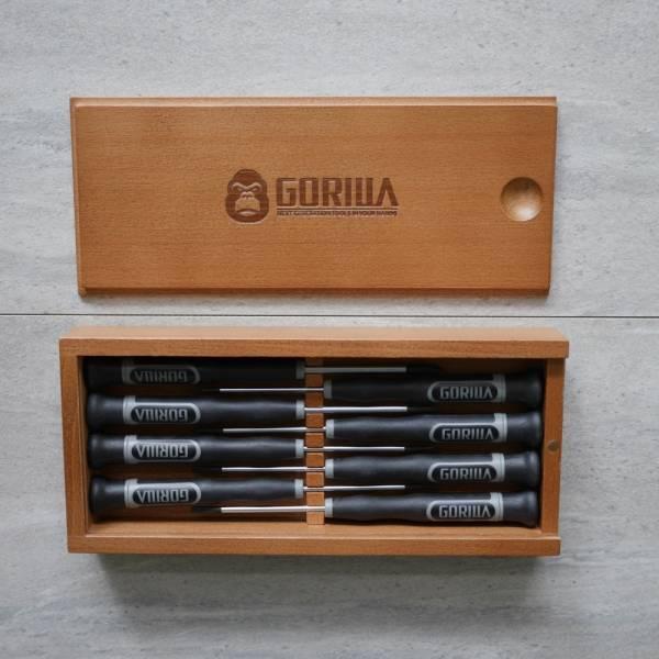 【Gorilla】 8in1標準精密螺絲起子組