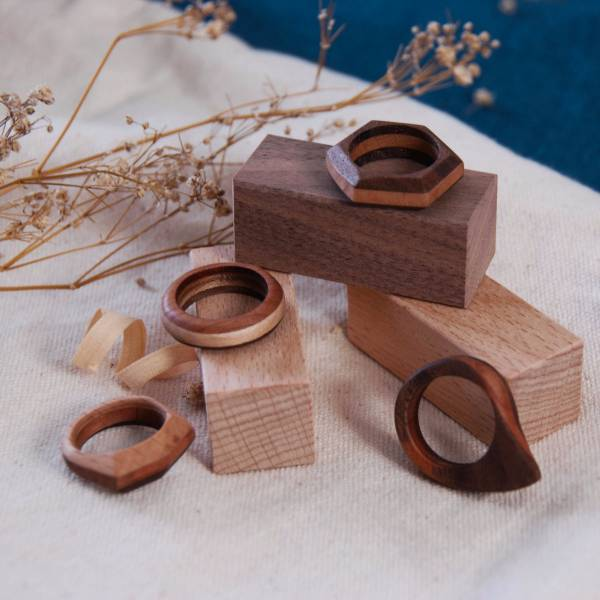 Wooden Ring (Taichung Workshop) 原木戒指,手作DIY,木質溫潤,質感體驗