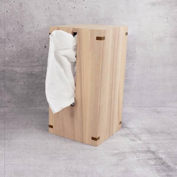 【福利品】源面紙盒(胡桃) 面紙盒,直立式,不占空間,收納