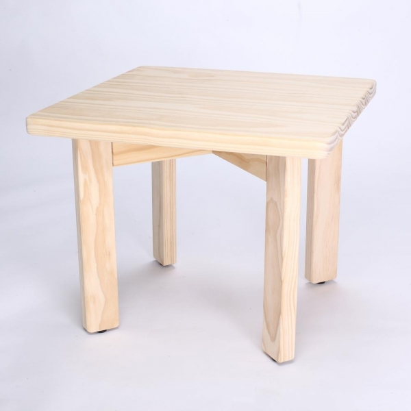 Square Table wood, woodowork, pine,